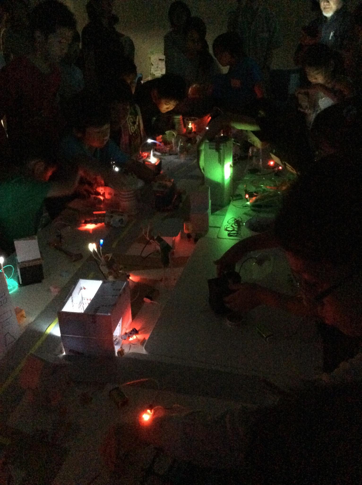 littleBits lights