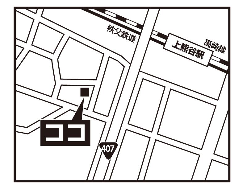 熊谷中央教室地図